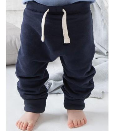 Baby Sweatpants - Pantalon en sweat bébé, très souple et gratté à l'intérieur | Coupe harem décontractée pour un look tendance e