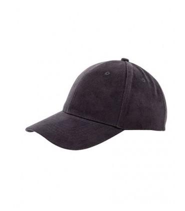 Heavy Brushed Cap - Coton brosé | Coton épais | Trous d'aération brodés | 6 panneaux renforcés | Renfort à l'avant | Coutures dé