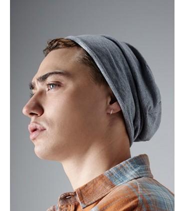 Jersey Beanie - jersey de coton doux avec de l'élasthanne | Tissu respirant lèger | Bord roulé | Étiquette détachable pour facil