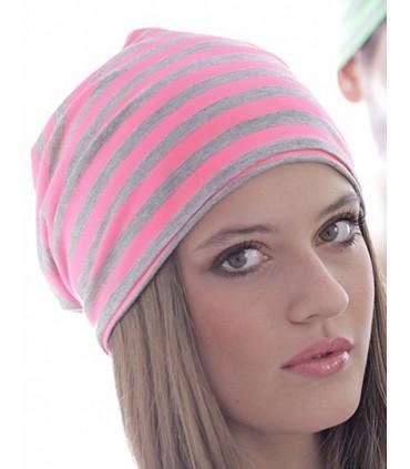 Hashtag Beanie - 50% rayon / 50 % polyester | Bonnet à double couche | Taille unique -Marque: Atlantis