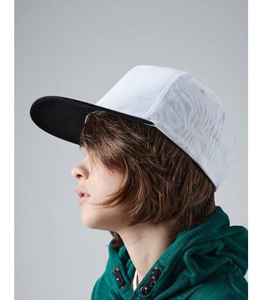 Youth Size Snapback - 100% Coton Twill - 220gsm | Etiquette TearAway pour une simple personnalisation | Taille ajustable pour la