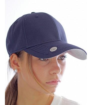 Birdie Cap - Casquette de baseball en polyester avec système magnétique sur la visière | Taille unique | 6 panneaux | Panneaux f