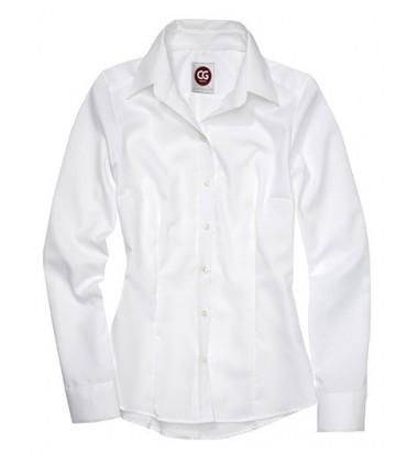Shirt Elise Lady - Chemise en pur coton | Tissu de haute qualité infroissable | Coupe ajustée à la mode | Entretien facile | Gra