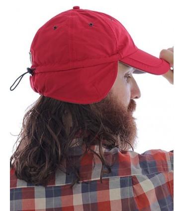 Techno Flap Cap - 6 panneaux | Oreillette | Entièrement fermé à l'arrière | fermture avec bande et arrêt | Doublure entièrement