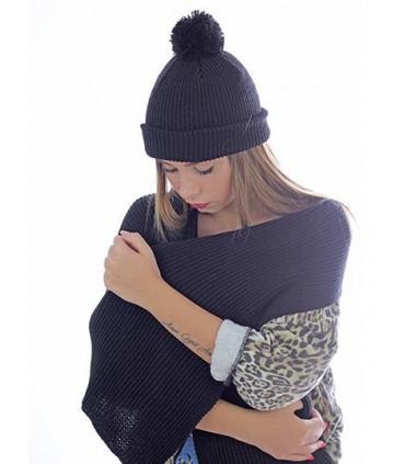 Skate Scarf - écharpe tricoté | Dimensions : 158 x 26cm | écharpe | Fil tricoté | Côtes 1 X 1 -Marque: Atlantis