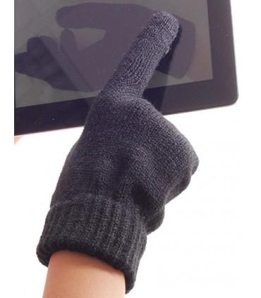 Gloves Touch - Tissu Touch Screen/ d'écran tactile | Poignet extensible | Poids: env. 55g -Marque: Atlantis