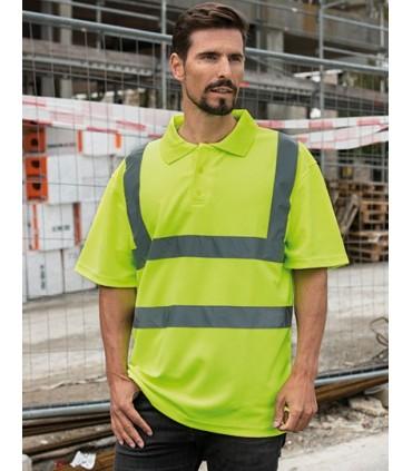 Blended fabric Poloshirt - Polo en polycoton haute visibilité Korntex® | Certifié conforme à la norme EN ISO 20471:2013 + A1:201