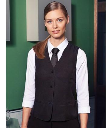Waistcoat Basic for Women - Doublure: 100% PES, 60g / m² | 2 pochges latérales avec lignes de piqûres | 1 poche intérieure doubl