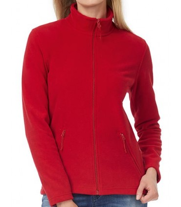 Microfleece-Duo ID.501 / Women - 100% polyester - traitement anti-boulochage   Coupe féminine   Look contemporain essentiel   Ou