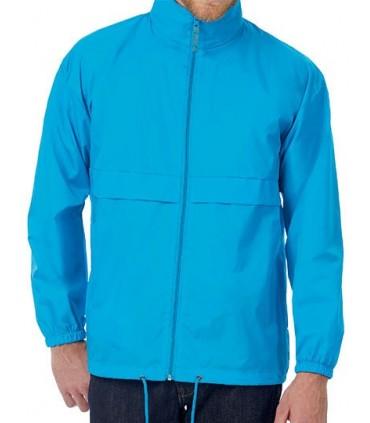 Jacket Sirocco / Unisex - 100% Nylon taffeta | Ouverture intégrale par fermeture éclair avec curseur | Capuche intégrée dans le