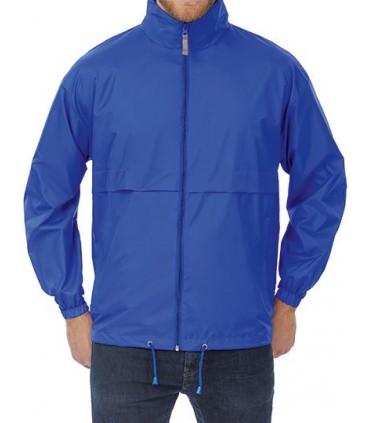 Jacket Air / Unisex - 100% Nylon taffeta | Ouverture intégrale par fermeture éclair avec curseur | Capuche ajustable et intégrée