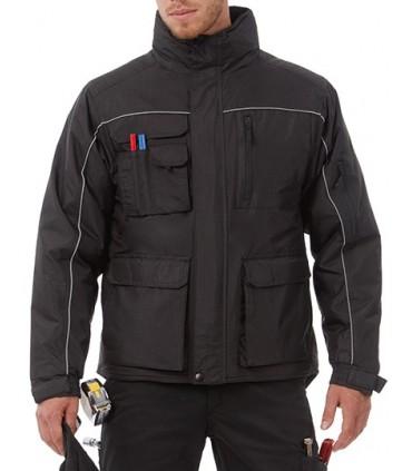Jacket Shelter Pro - Couche extérieure: 100% polyester rip-stop résistant au vent - déperlant - imperméable 5000mm | Couche inté