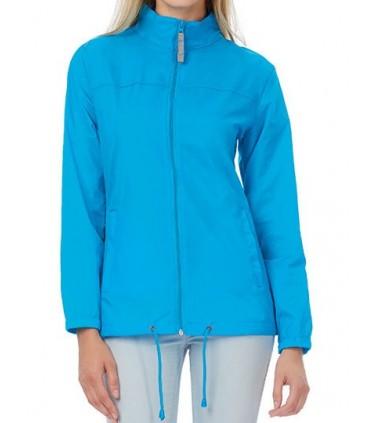 Jacket Sirocco / Women - 100% Nylon taffeta | Ouverture intégrale par fermeture éclair avec curseur | Coupe féminine | 2 poches