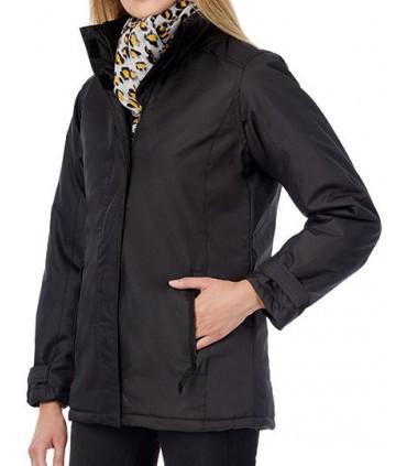 Jacket Real+ / Women - col montant haut et sa moitié de dos doublés en micro-polaire anti-boulochage | Double de couleur ton sur