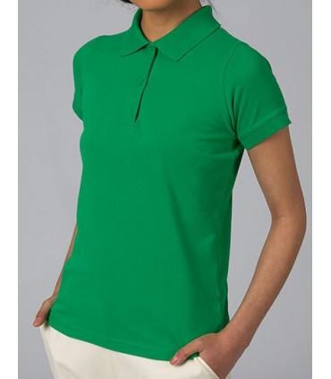 Polo Safran Pure / Women - 100% coton peigné filé à l'anneau pré-rétréci | Col et bords de manche en côte 1x1 | Patte de boutonn