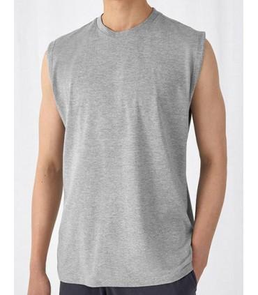 T-Shirt Exact Move - 100% coton filé à anneaux pré-rétréci | Encolure ronde Exact double épaisseur | Col en côte 1x1 avec élasth