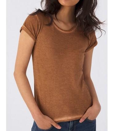 T-Shirt DNM Plug In /Women - 100% coton filé à anneaux pré-rétréci | Single Jersey teint à froid pour un effet qui ne passera pa