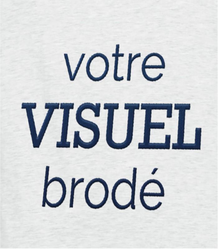 Broderie motif ou texte