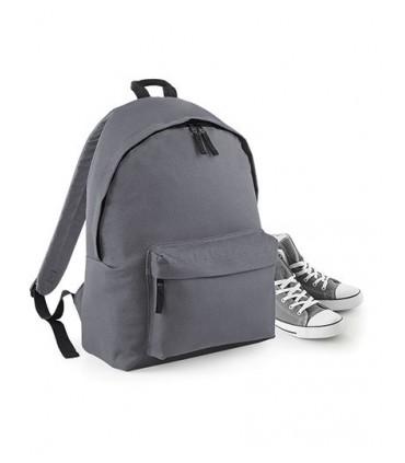Maxi Fashion Backpack - 600D Poyester | Bretelles réglables rembourrées | Partie arrière rembourrée | Poche avant zippée | Poign