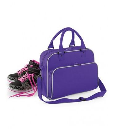Junior Dance Bag - 600D Poyester | Style rétro | Détails contrastés | Heavy Canvas, peut être porté à la main ou à l'épaule | Ba