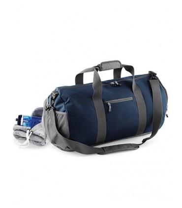 Athleisure Kit Bag - Mixe de polyester 600D/420D | Résistant à l'eau | Poche extérieure en maille pour une balle | Compartiment