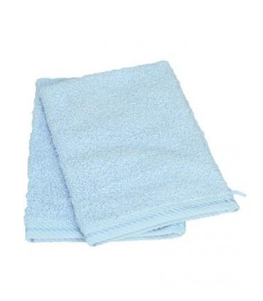 Washcloth - Gant de toilette moelleux et doux | vec des rayures diagonales en satin à la bordure | 2 bordures 1,5 cm | Gant de t