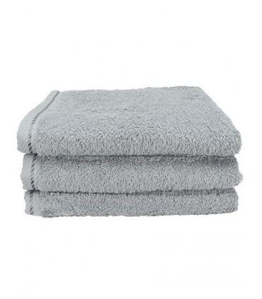 Bath Towel - Avec bande de satin diagonale | 2 bordures 1,5 cm | Très bonnes propriétés de séchage | Serviette de bain douce | P