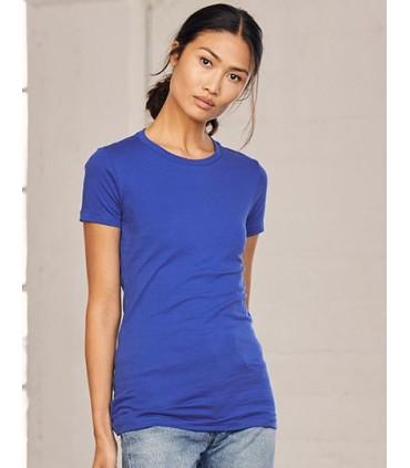 Women`s The Favorite T-Shirt - cton peigné, filé à l'anneau | Bande de renfort déépaule à épaule | coupe longue | manches moulan