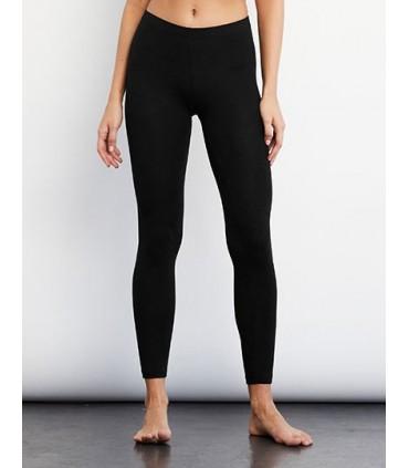 Women`s Cotton Stretch Legging - Coton peigné ringspun | Taille élastique | pas de coutures latérale -Marque: Bella