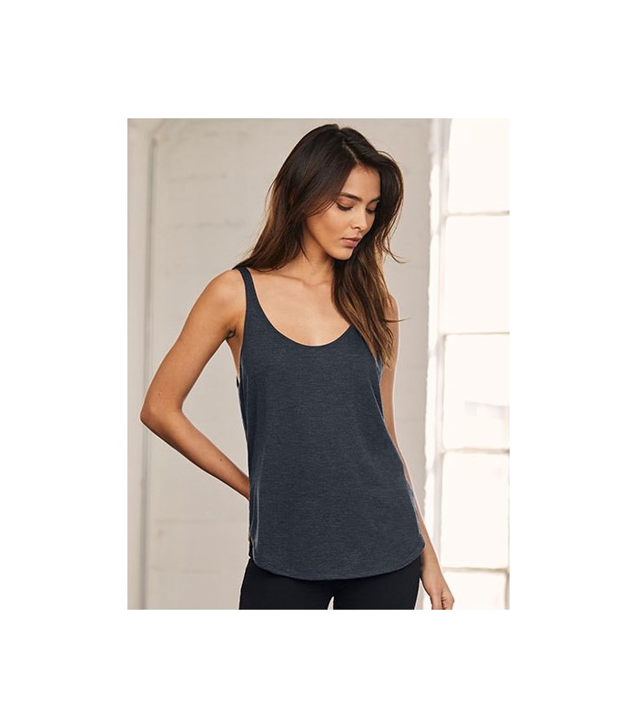 Women`s Flowy Side Slit Tank