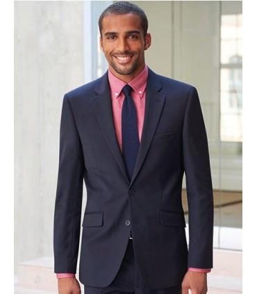 Sophisticated Collection Avalino Jacket - Veste à boutonnage simple | Coupe ajustée | 2 boutons devant | Fentes latérales | 3 po