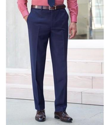Sophisticated Collection Avalino Trouser - Sans pinces | Coupe ajustée | 2 poches latérales | 1 poche arrière | Lavable en machi