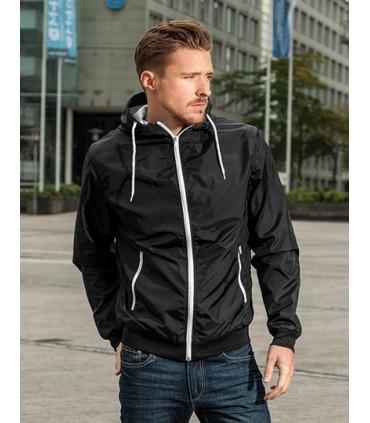 Windrunner Jacket - Manches montées | Doublure en maille | Étiquette neutre indiquant la taille | Liseré côtelé à l'ourlet et au